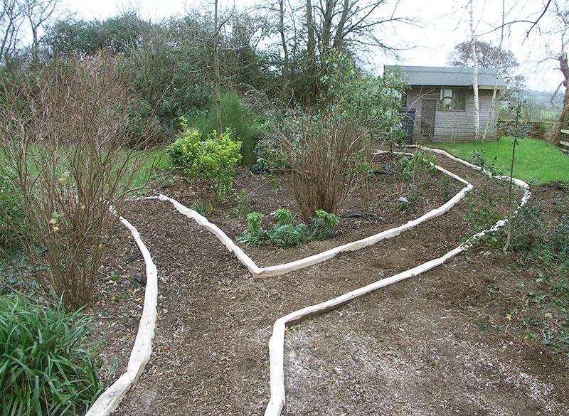 Chestnut Path Edging